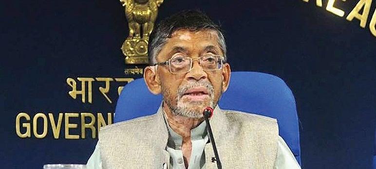 Santosh Gangwar: Dedicated Twitter Handle For Labor Statistics