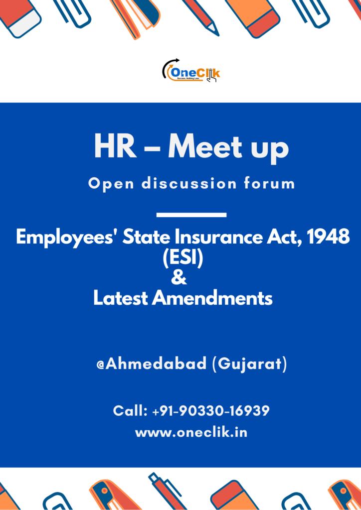 HR – Meet up @One Clik: (Ahmedabad, Gujarat)