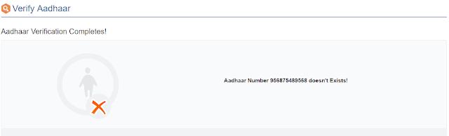 Adhaar Authentication Error In EPF
