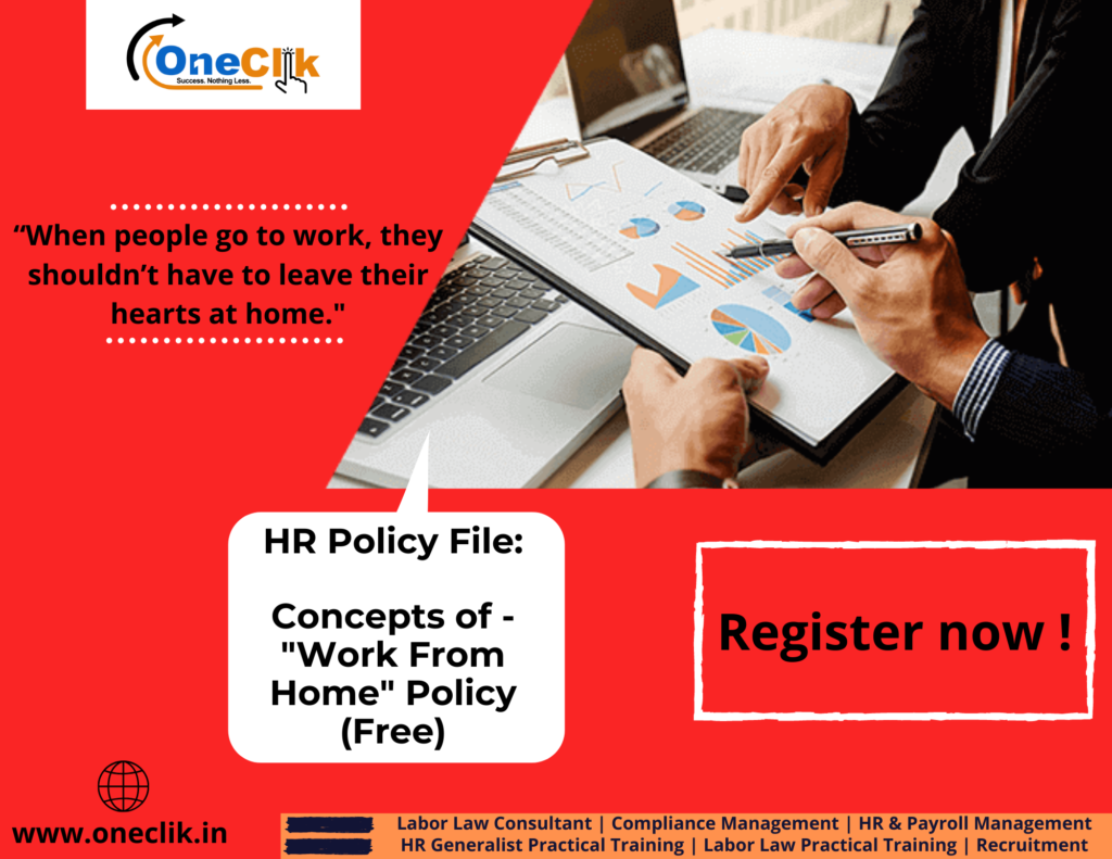 "HR Policy: Concepts of ""Work from Home"" Policy"