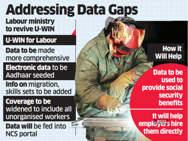 'Unorganized Worker Identification Number (U-WIN)': Unorganized Sector Workers may Have IDs