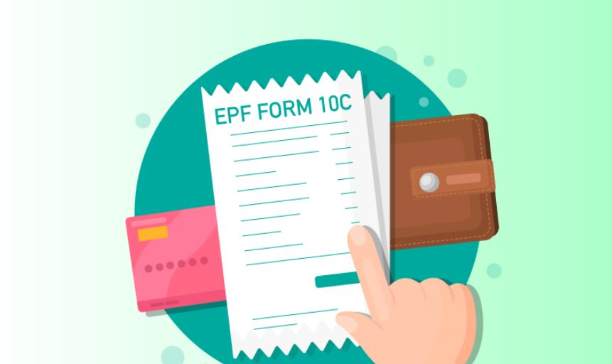 EPF: Procedure To Fill Form 10C Online