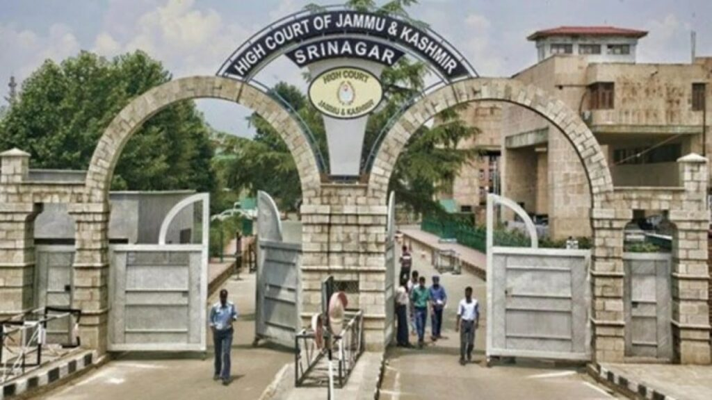 J&K High Court: Payment Of Pension Not A Bounty To Employee