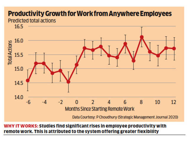 Work From Anywhere Is The Future Of Work As It Increases Productivity: Prithwiraj Choudhury
