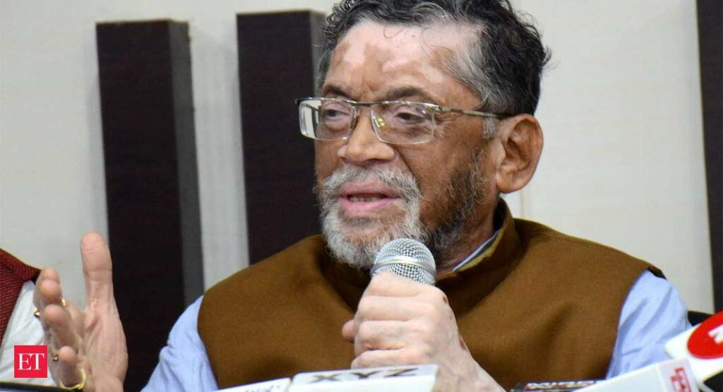 Niti Aayog Constitutes Sub-Group To Prepare A Plan For Migrant Workers: Santosh Gangwar