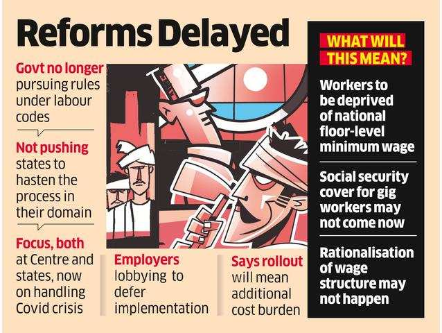 Labour Codes: Implementation May Be Pushed To Next Year
