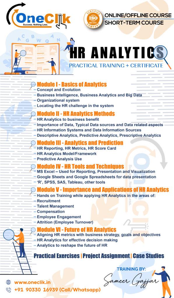 HR Analytics – Practical Training + Certificate